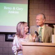 Besty and Gary Jenkins -Winner Individual Arts Patron of the Year