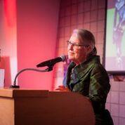 Faye Baglin - Presenting Lifetime Achievement Award
