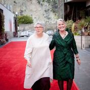 Rosemary Swimm and Faye Baglin