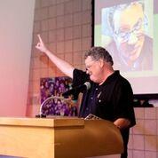 Artist Russell Pierce Speaking